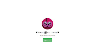 poetry and status whatsapp hroup