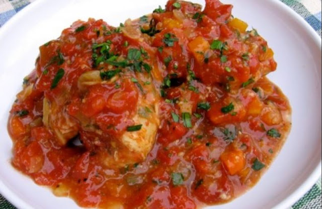 Slow Cooker Chicken Thighs Osso Buco