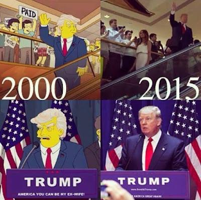 辛普森預言川普總統