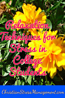 Relaxation techniques for stress in college students