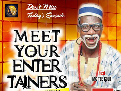 Meet Popular Comedian Pastor Chinko on Meet Your Entertainers With Mc Tee'Gold