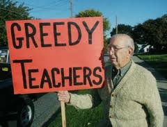 The Chicago Lampoon: Naperville's Fat Teachers Salaries: Union