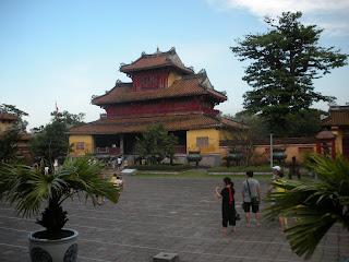 Hien Lam Pavilion. Hue Imperial City (Vietnã)
