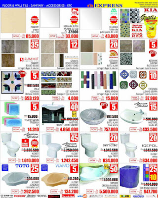 Floor and  Wall  Tile - Sanitary - Accessories - ETC