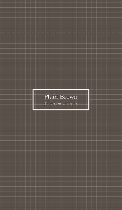 -Plaid Brown ver.3-
