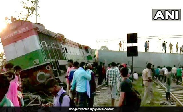 kbusr4bo new farakka express train derail raebareli