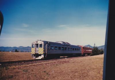 Oregon Coast Explorer RDC-1 #553 in Tillamook, Oregon, in March 1994