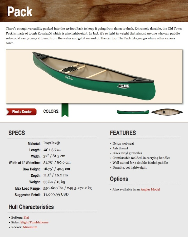 A drifting cowboy: 12' Pack & 14' Hunter -- Discontinued Old