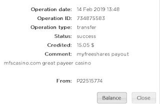 MyFreeShares Payout Proof