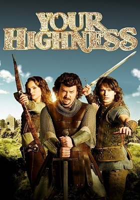 Your Highness 2011 300MB BluRay Hindi Dubbed Dual Audio 480p