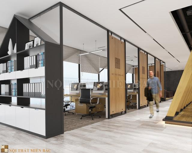 Thiết kế nội thất phòng làm việc được dân văn phòng yêu thích nhất - H2