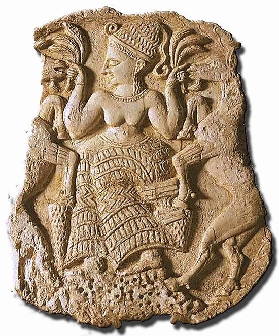 Asherah Goddess Carving