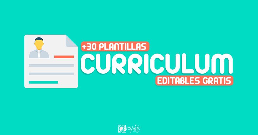 plantillas editables 2017 de curriculum vitae