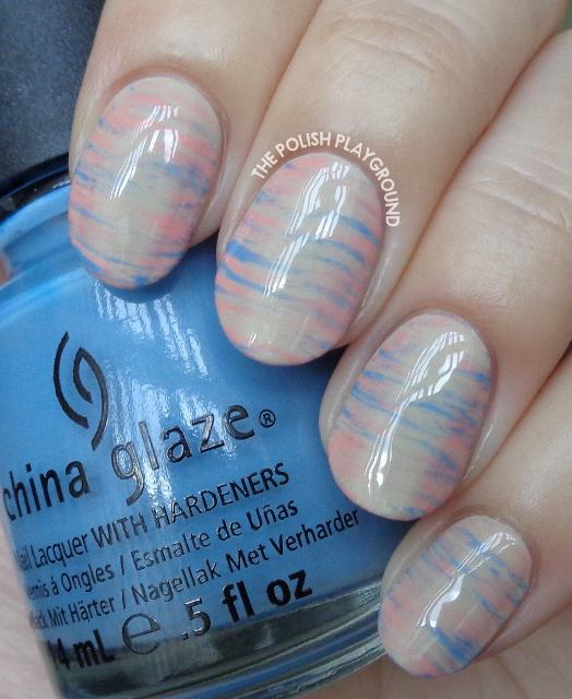 2016 Pantone Colors Inspired Haze Nail Art