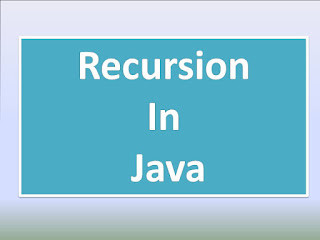 Recursion program in Java
