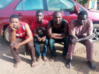 News: Car-snatching syndicate meets waterloo in Benue (PHOTOS)