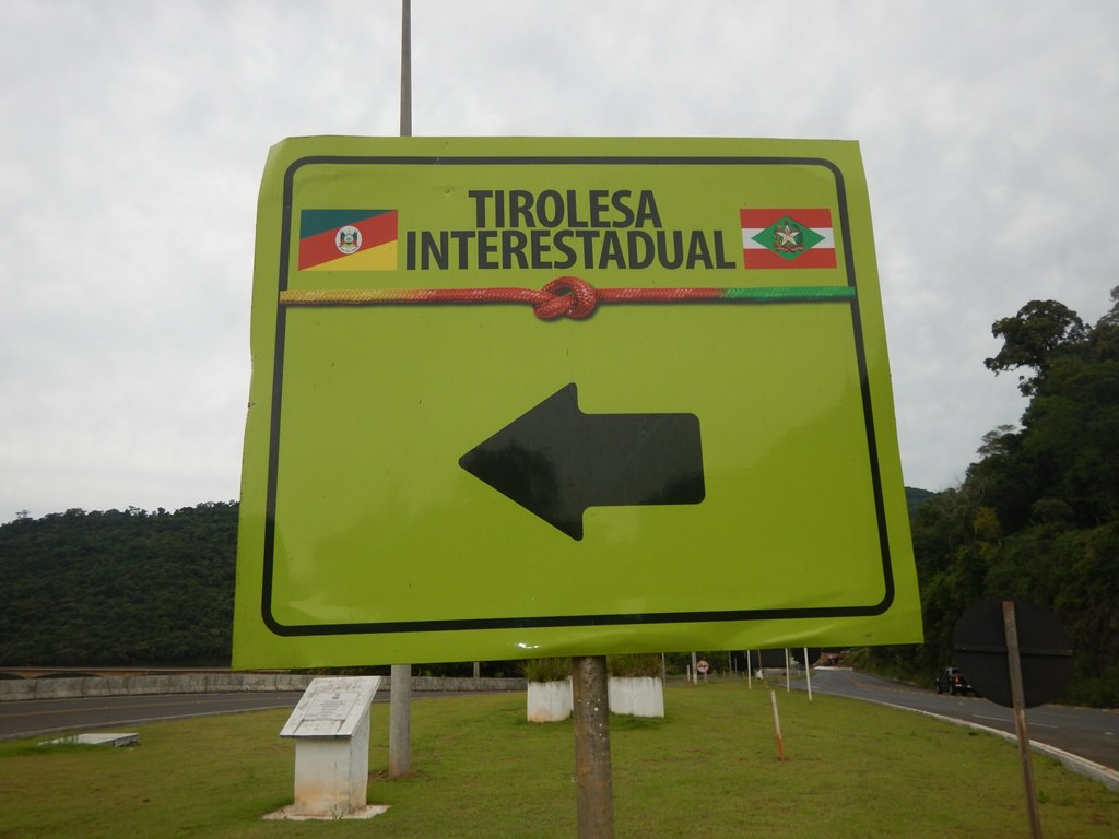 Tirolesa Interestadual RS SC (Chapecó)