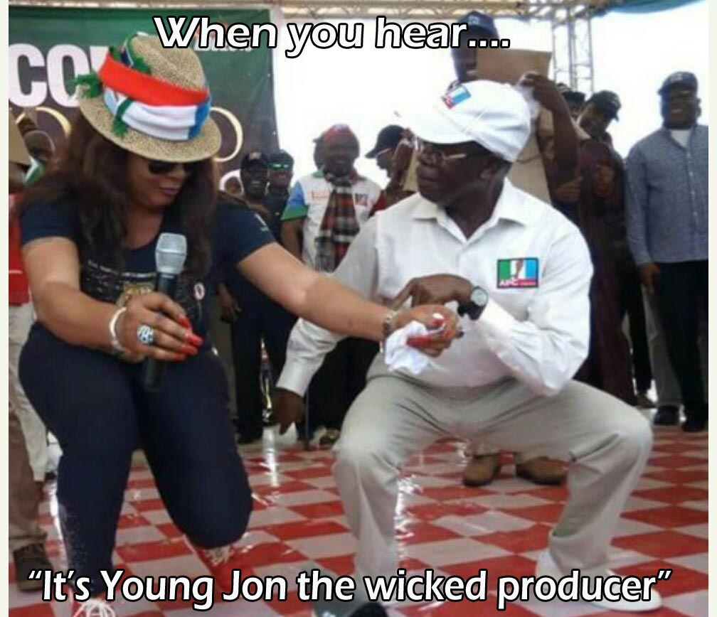 LMAO. See what someone did to Adams Oshiomhole picture