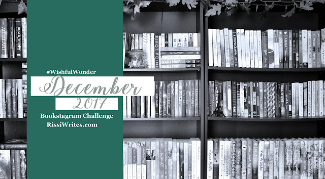 #Bookstagram Challenge | #WishfulWonder December 2017 Challenge