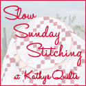 Slow Stitching Sunday