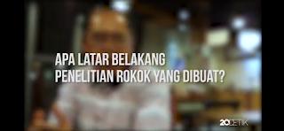 Video Penelitian Jurnal Ekonomi : Harga Rokok Dinaikkan