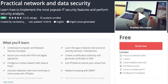 [100% Free] Practical network and data security