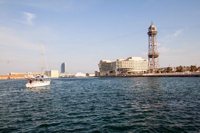 Rambla del mar-Barcellona