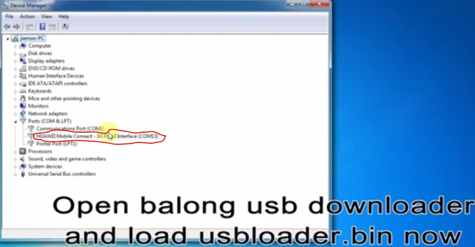 Balong Usb Loader