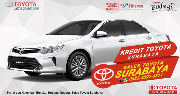 Promo DP Ringan, Paket Kredit Toyota Camry Surabaya