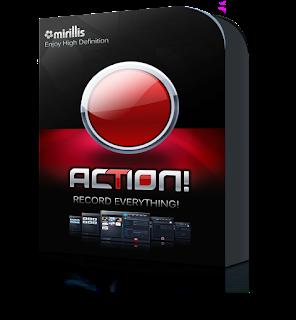 Mirillis Action 1.30.3 Final Full + Key โปรแกรมบันทึกวิดีโอหน้าจอ