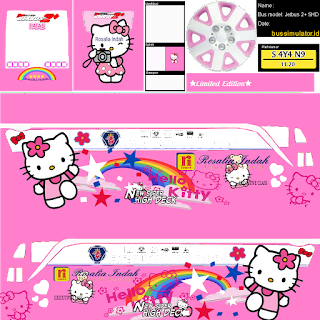 Livery Hello Kitty