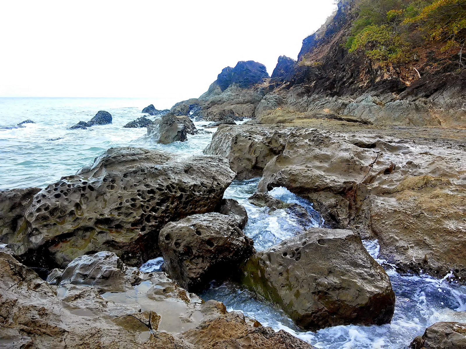 Laiya Beach Rock Formations