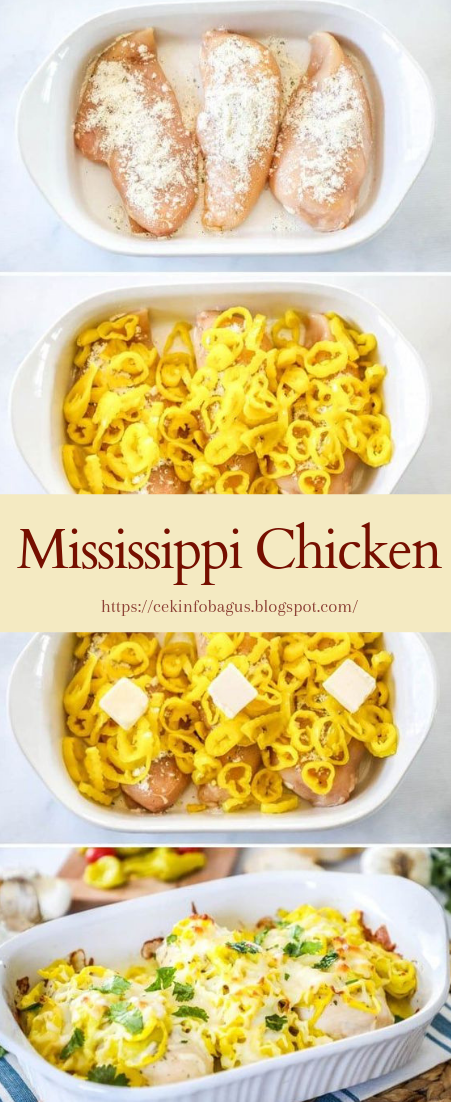 Mississippi Chicken #dinnerrecipe #food