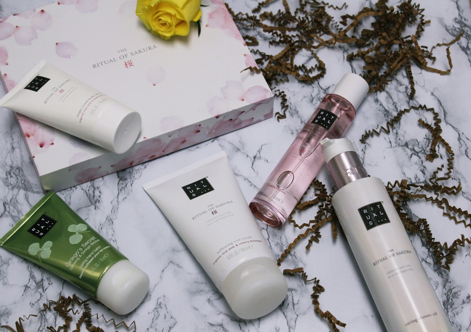 glossybox, rituals, beauty, skincare, subscription box, beauty box, sakura, glossybox x rituals