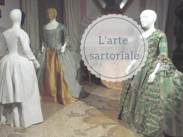La tradizione sartoriale: abiti antichi a Palazzo Mocenigo a Venezia