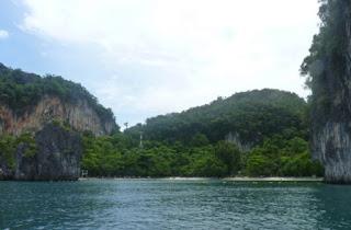 Excursión a la Isla de Hong o Koh Hong. Playa de Hong Island.