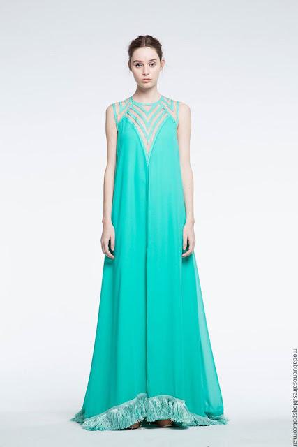 Moda vestidos de fiesta verano 2017 Natalia Antolin.