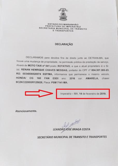 Os 3 secretários do município que foram exonerados, já foram liberados pelo governo do estado???