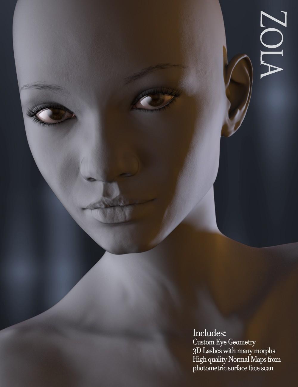 Download DAZ Studio 3 for FREE!: DAZ 3D - Zola HD for