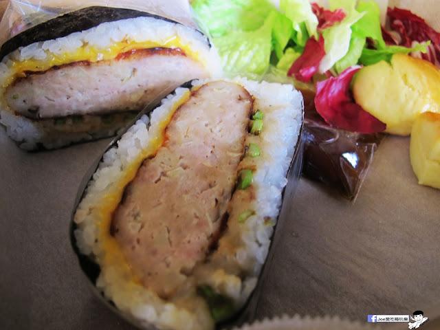 IMG 0459 - 隱藏在教師新村裡的 大小食事│客製化精緻餐盒,漢堡排川飯糰很推薦