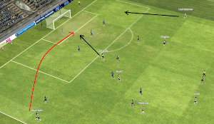 FM14 Tactic Cobra Crossing from Wingers
