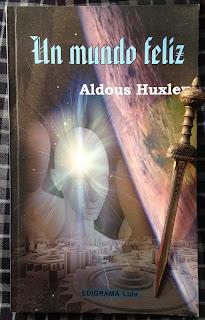 Portada del libro Un mundo feliz, de Aldous Huxley