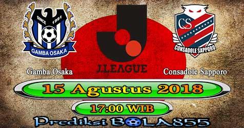 Prediksi Bola855 Gamba Osaka vs Consadole Sapporo 15 Agustus 2018