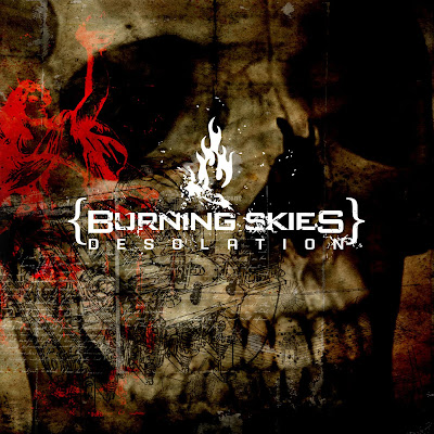 burning skies desolation