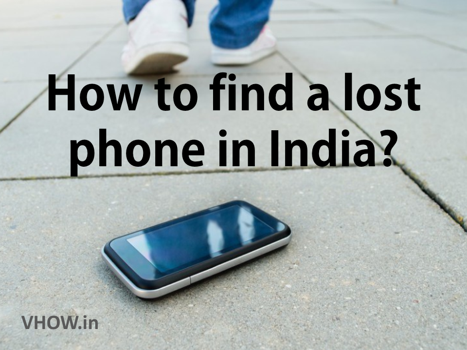 find a lost phone in India
