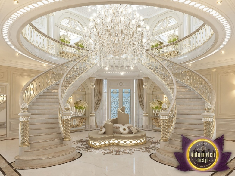 Nigeiradesign luxury villa design in dubai from katrina for Villa interior design in dubai