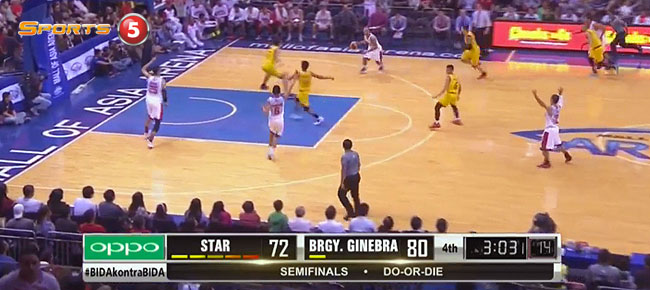 Ginebra def. Star Hotshots, 89-76 (REPLAY VIDEO) Semis Game 7 / February 21