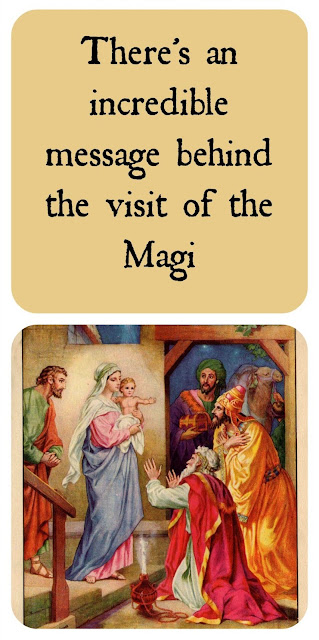 Message of the Magi who visited Christ