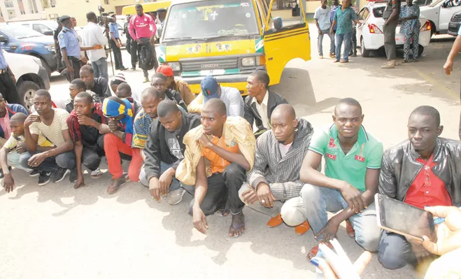84 illegal immigrants seme badagry border