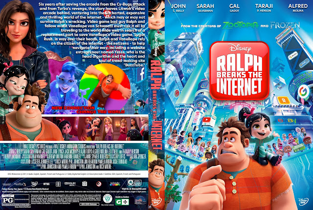 Ralph Breaks the Internet DVD Cover